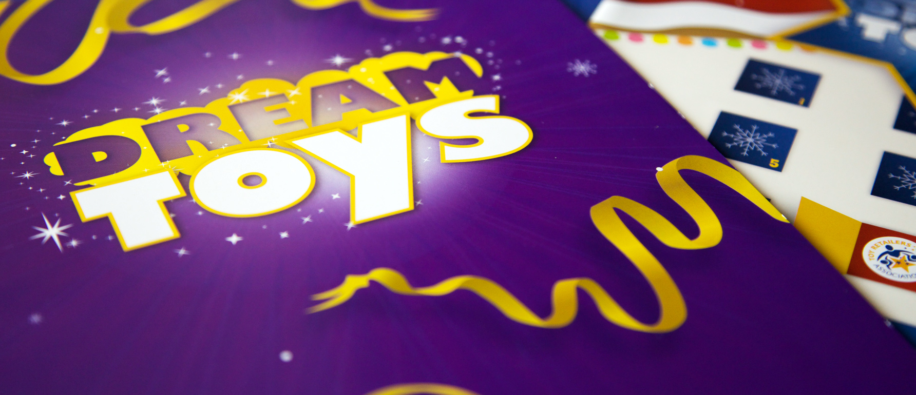Concept photo of Dream Toys brochure design
