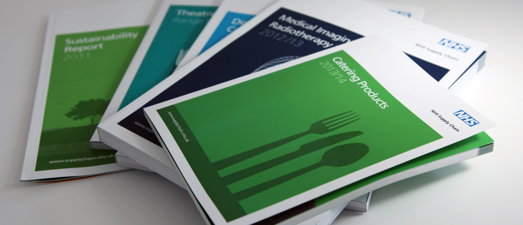 Branding for brochures and catalogues
