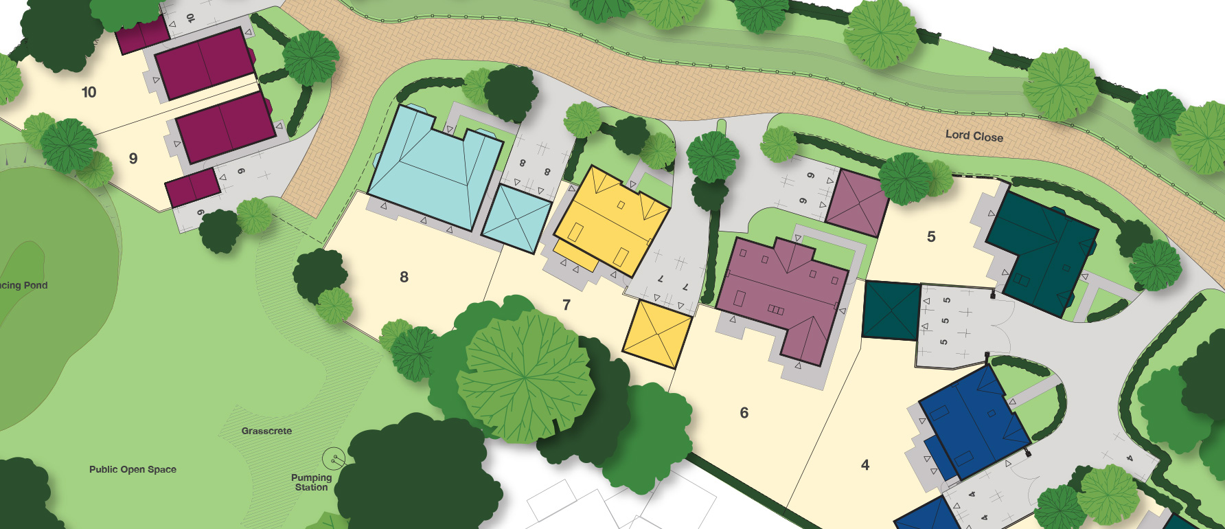 Sales assets and site plan designs for davidsons group Site plan design