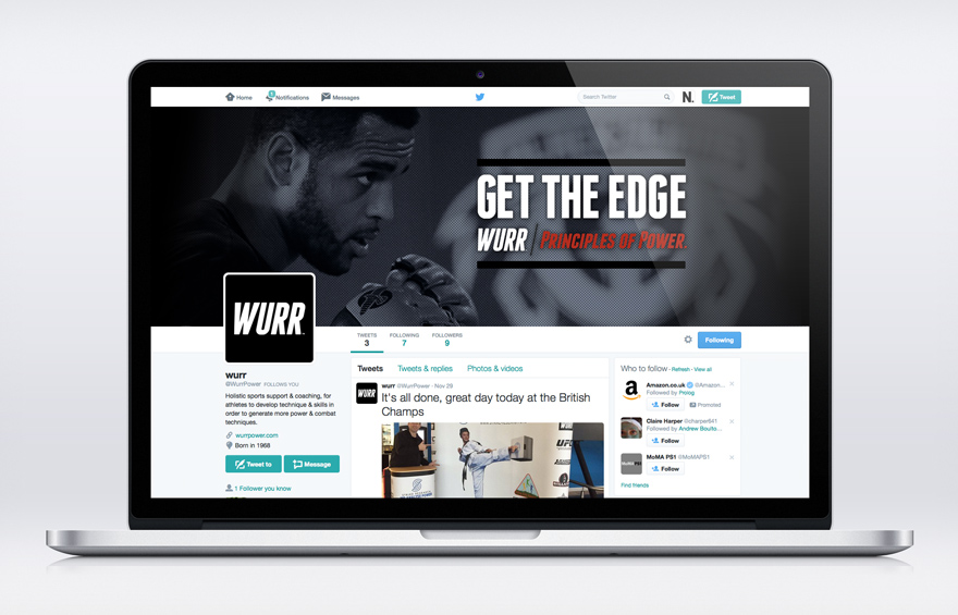 Wurr brand and design development