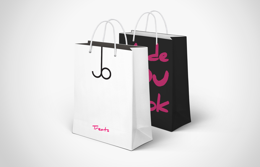 Goodie bag design branding