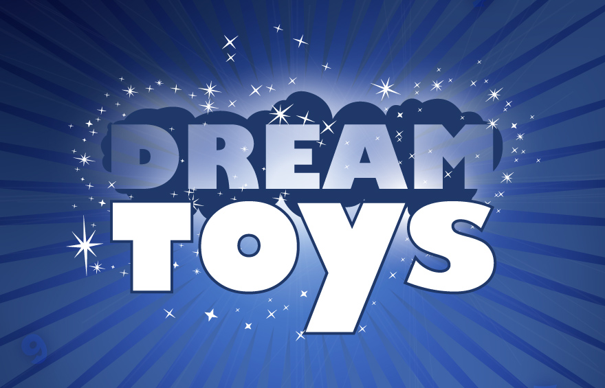 Dream Toys logo design