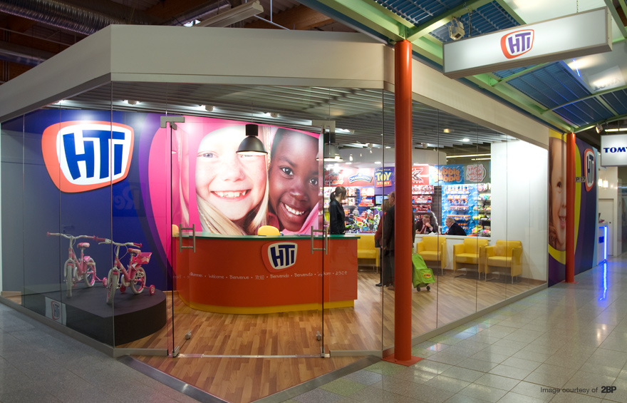 Photo of Nurnberg showroom graphics