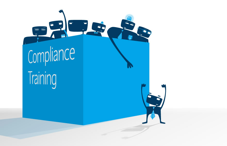 Illustration and Character Design Concepts for Compliance Training
