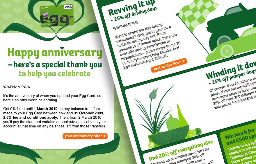 egg.com web design - Investments landing page