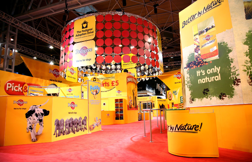 Exhibition photography for pedigree at crufts for Www interior designs com