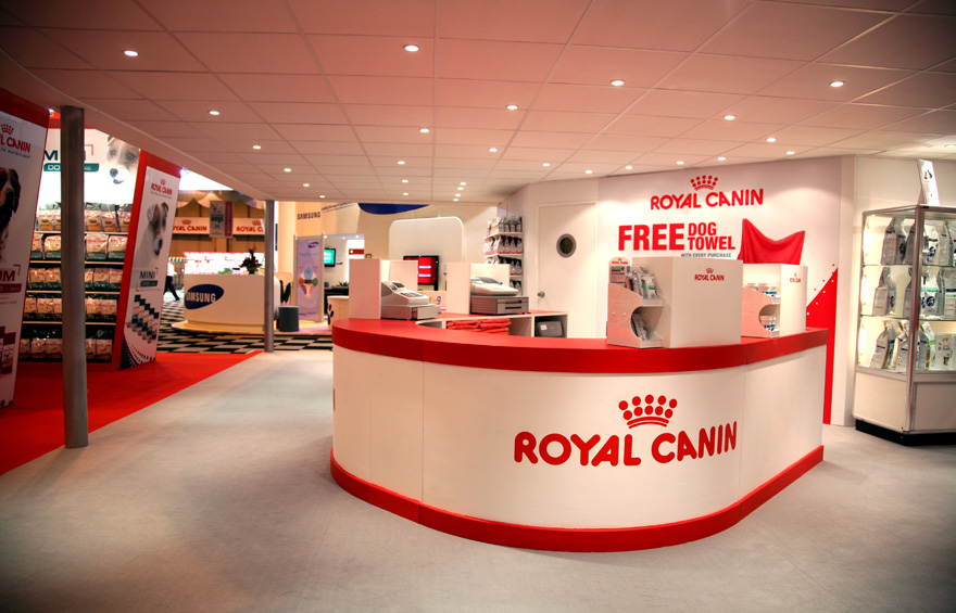 Trade Stands Crufts 2015 : Exhibition photography for royal canin at crufts