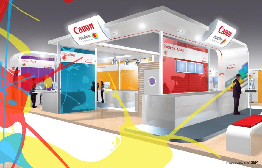 Canon exhibition stand design