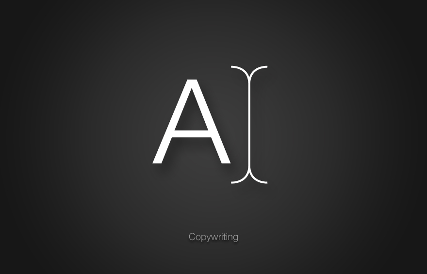 Nuke icon design for Copywriting