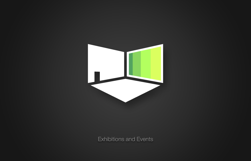 Nuke icon design for Exhibitions and Events