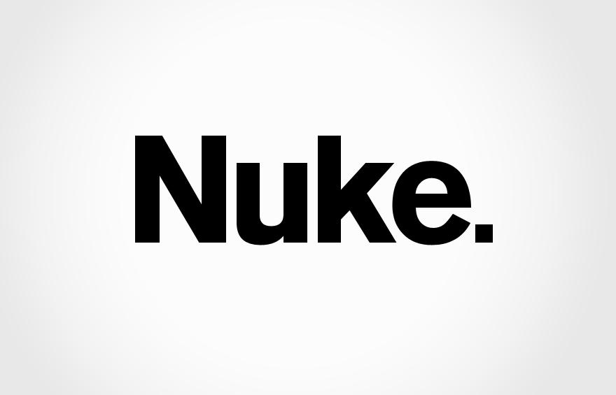 Redesigned Nuke. logo