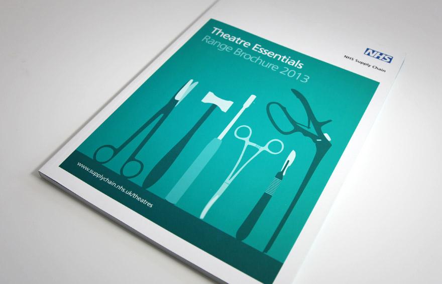 Theatre Essentials brochure cover design