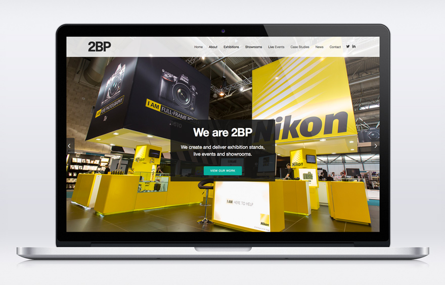 Website design for 2BP
