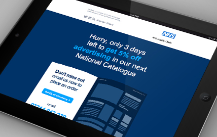 Email Marketing Design and Consultancy for NHS Supply Chain