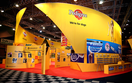 Exhibition Photography for Pedigree at Crufts