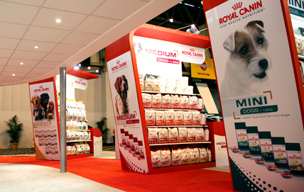Exhibition Photography for Royal Canin